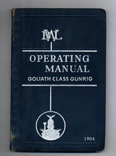 Goliath Class Gunrig operating manual
