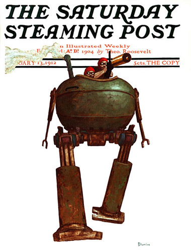 The Saturday Steaming Post