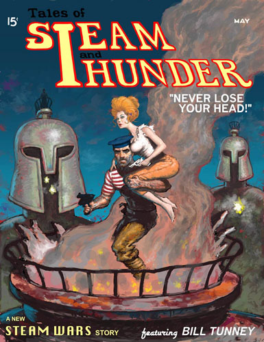 Steam And Thunder Cover