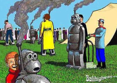 Steam Monkey Walk